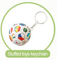 soft animal keyrings
