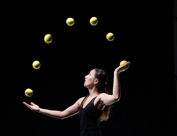 Do you know Gandini Juggling's homage?