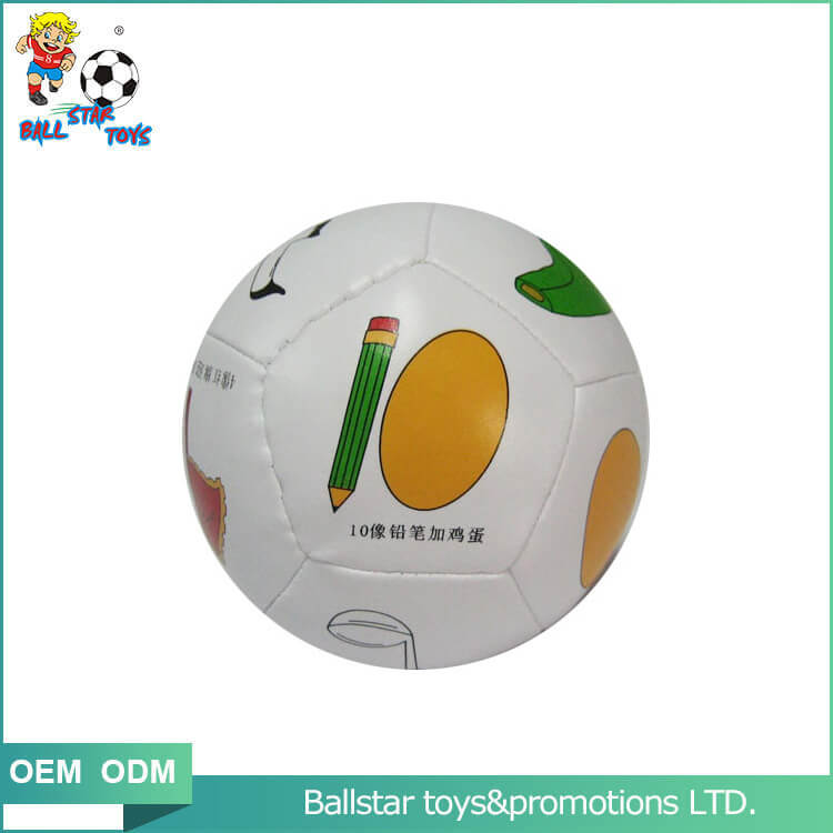 educational soccer ball stuffed toy for sale
