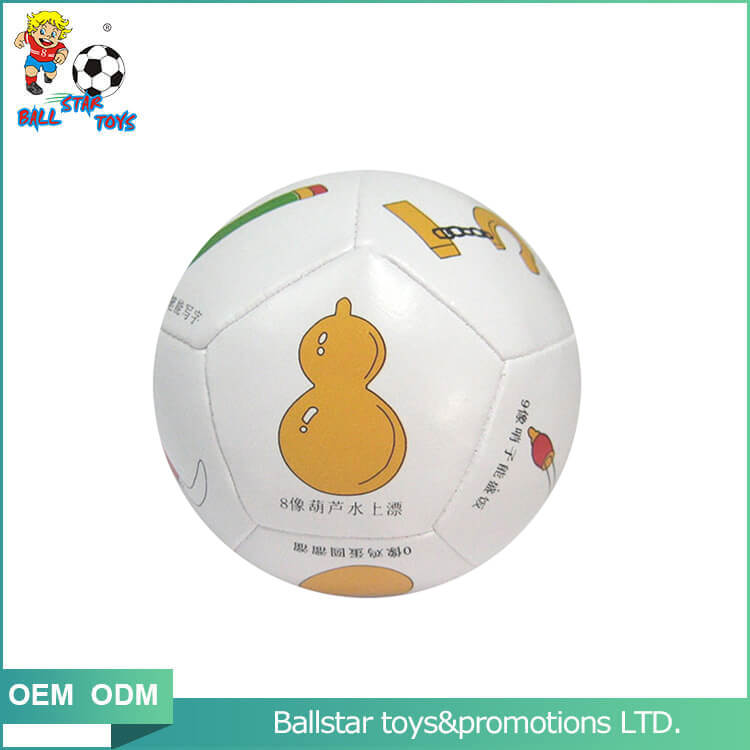 beautiful shape soccer ball stuffed toy