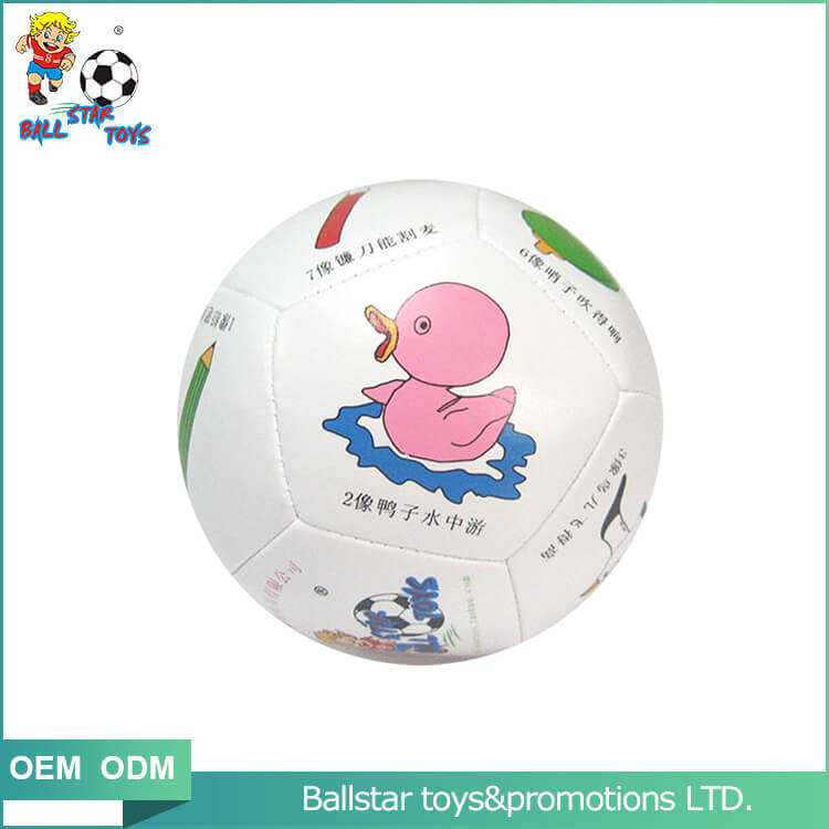 cute duck educational soccer ball stuffed toy ball