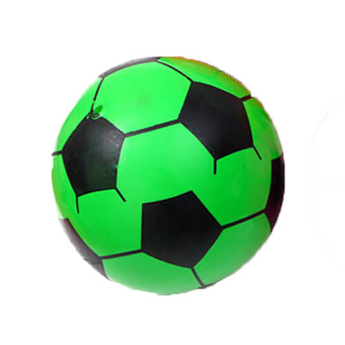 green inflatable ball