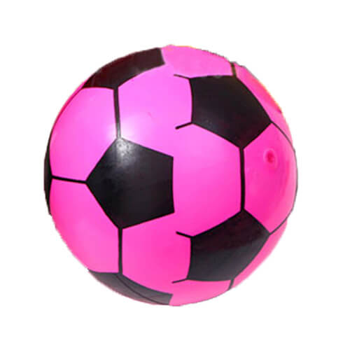 pink inflatable ball