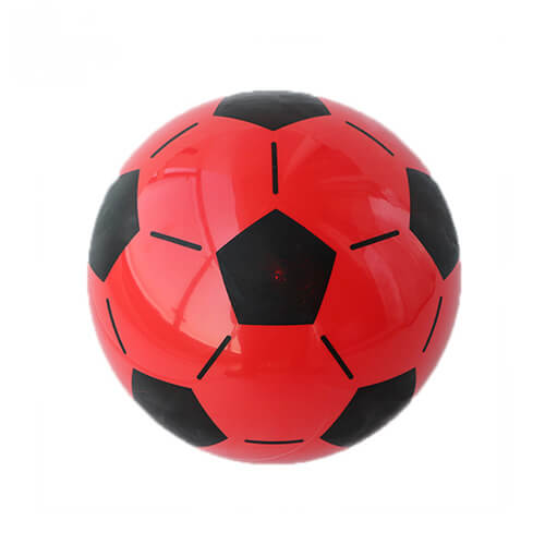 red inflatable ball
