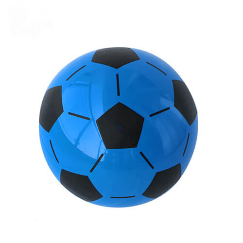 blue inflatable ball